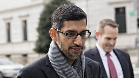 Google's CEO will meet with the US general who said the company is 'indirectly benefiting the Chinese military'