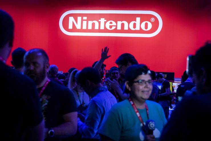 Shares of Nintendo tumble after it announces a delay in a closely watched video game