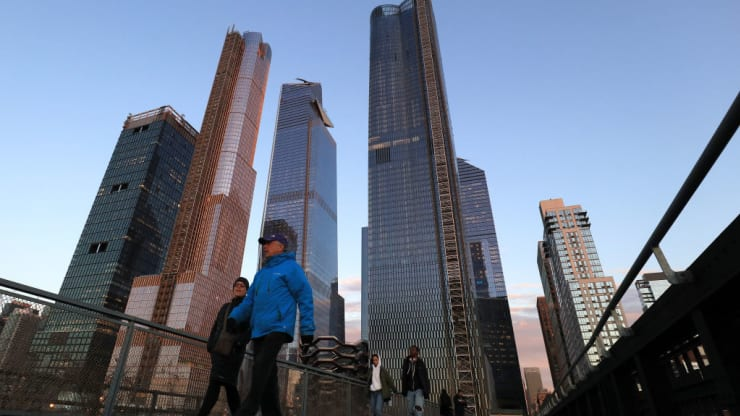 Facebook is moving into more than 1.5 million square feet of office space in New York's Hudson Yards