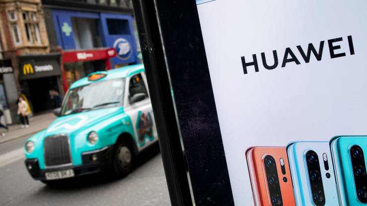 US tells UK using Huawei 5G gear would be 'nothing short of madness,' report says
