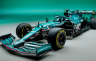 Aston Martin launches first F1 car in over 60 years